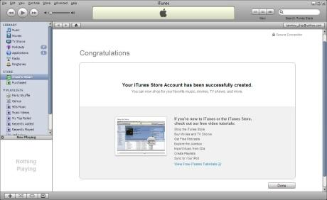 Itunes account login