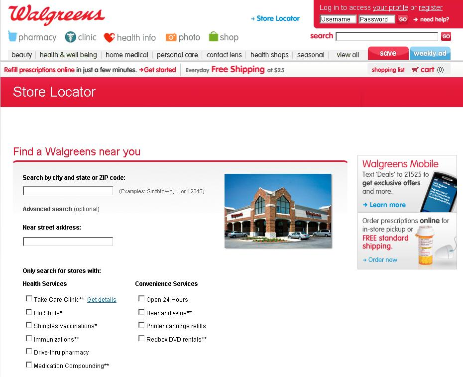 Details For Walgreens at E ND ST,SOUTH HOLLAND, IL, Directions For Walgreens at E ND ST,SOUTH HOLLAND, IL, 2. E SIBLEY BLVD.