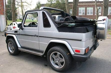 just a car geek 2000 mercedes benz gelaendewagen cabriolet. Black Bedroom Furniture Sets. Home Design Ideas