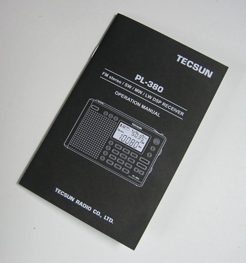 RADIO-TIMETRAVELLER: Review Of The Tecsun PL-380 DSP Receiver