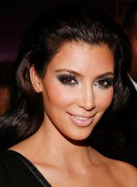 Celebrity Looks: Kim Kardashian Smokey Eye |Reflections of ...