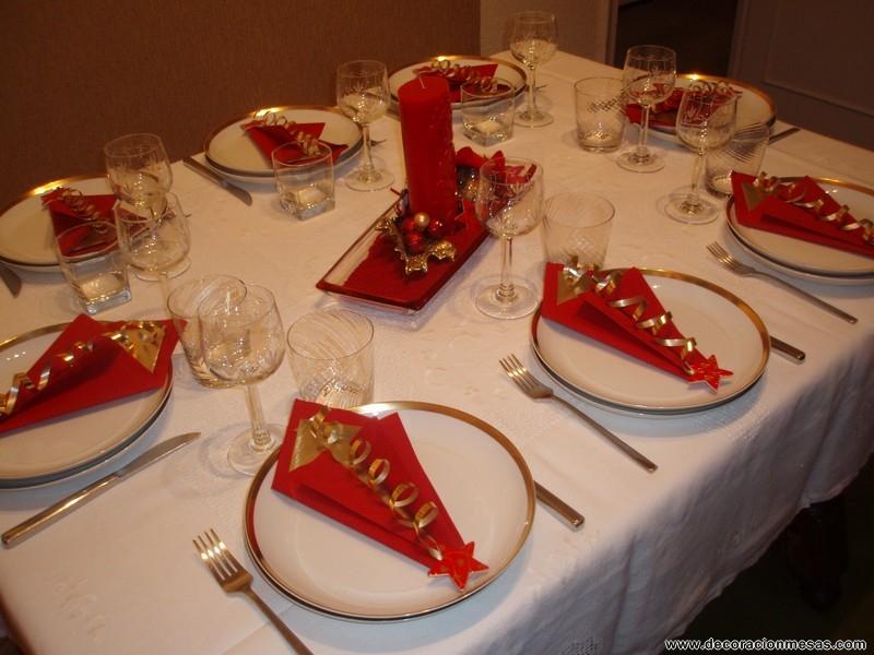 Como Decorar La Mesa Para Navidad Como Decorar La Mesa Para Navidad - Decorar-mesa-para-navidad