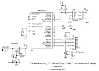 Design with Microcontrollers: Thermometer using DS1621 and