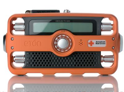 Eton emergency radio, designed by Whipsaw