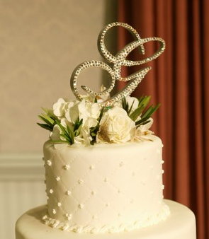 Crystal Cake Toppers Uk