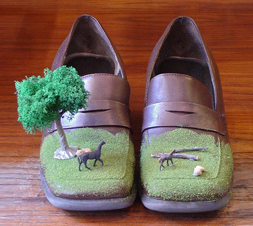 landscapes shoes