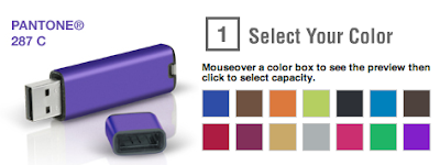 pantone flash drives