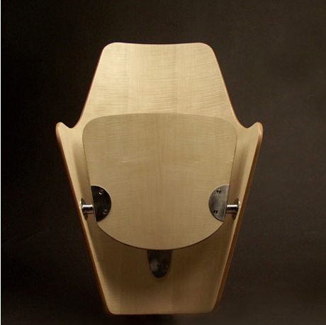 wood theatre chair