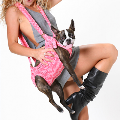 Make Dog Sling Carrier From Bed Sheet