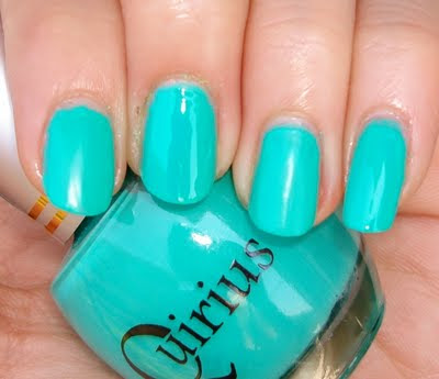 Turquoise Nail Polish Quirious China Glaze Pop And Opi