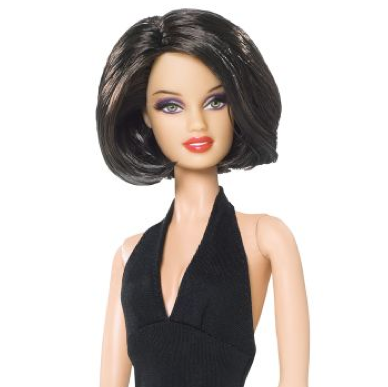 Barbie de pelo corto