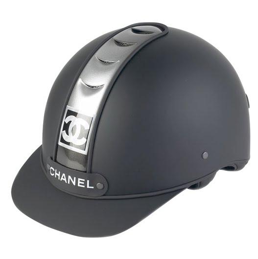 chanel polo helmet
