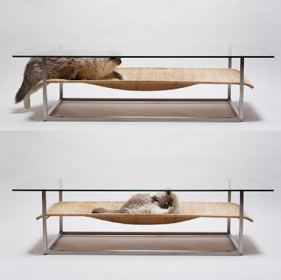 Cat Hammock Combo Coffee Table By Case-Real