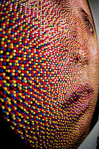 Artist Eric Daigh Sticks It To Us With His Pushpin