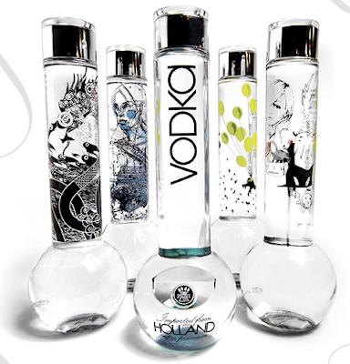 Bong Spirit Vodka from Holland
