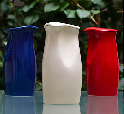 Porcelain painted Icebox pitchers
