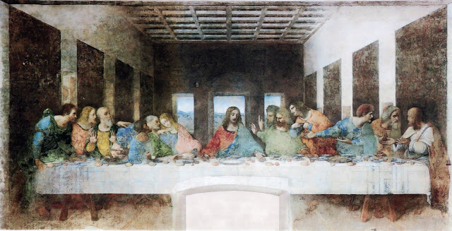 Da Vinci's The Last Supper (after cleaning)
