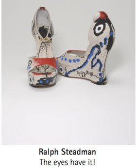 Ralph Steadman shoes
