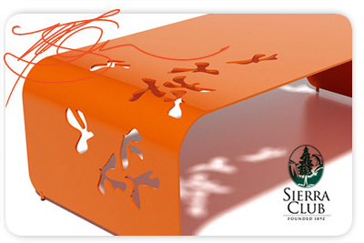 Margo Chase - Chase Design Group, Los Angeles - for the Sierra Club: