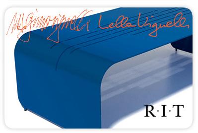 Massimo & Lella Vignelli - Vignelli Associates, New York for R.I.T