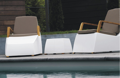 ... Fabulous Modern Minimalist Collection Of Outdoor Furniture Designed By  Marc Verhoeven And Chris Jan Van Zutphen. Made Of Pure Handmade Dutch  Workmanship ...