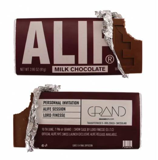 ALIFE  Milk Chocolate bar