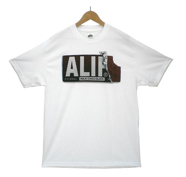 ALIFE chocolate bar tee shirt