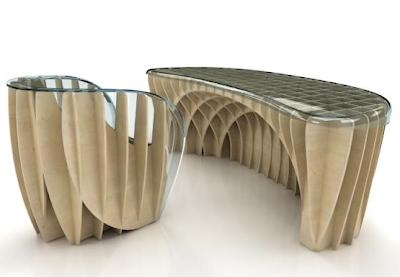 meritalia desk and chair