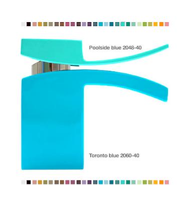 M faucet in custom colors