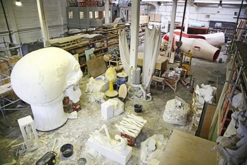 Joep van Lieshout studio