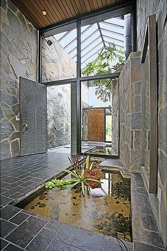 slate entryway