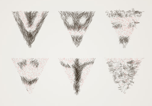 illustrated pubic hair