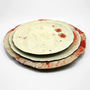 DEXTER! Dinner Plates By Nadeige Choplet