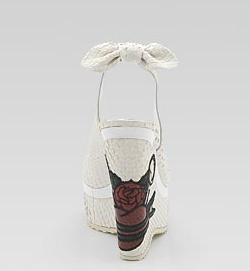 Gucci tattoo Heart shoes
