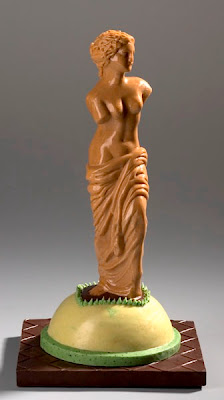 Gerhard Petzl's chocolate sculptures
