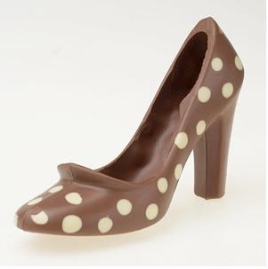 Jessica Walters chocolate shoe