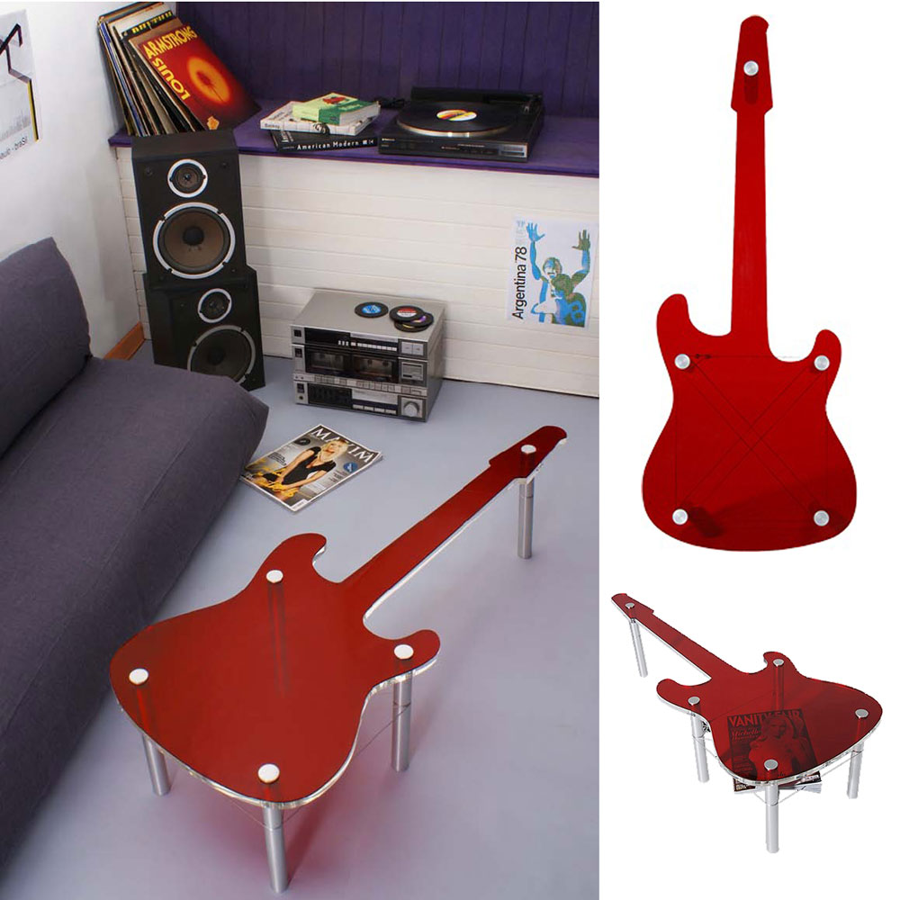Home Decor That Goes Up To 11 Rock N Roll Furnishings From Rocket Design