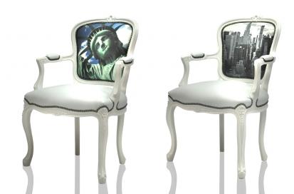Digitally Printed Home Furnishings - armchairs