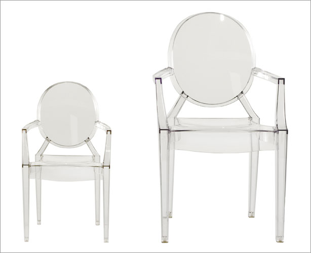 child's ghost chair by starck