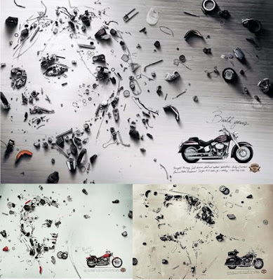 Harley davidson parts ads