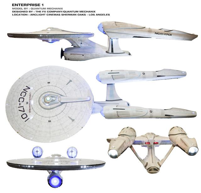 FX Company/Quantum Mechanix USS Enterprise