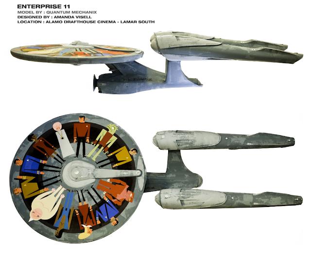 Amanda Visselll USS Enterprise