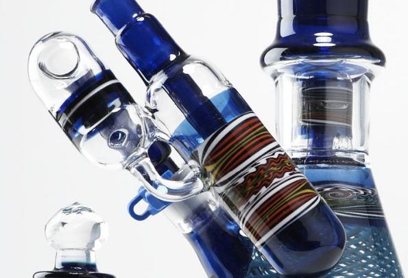 Custom Blown Glass Pipes