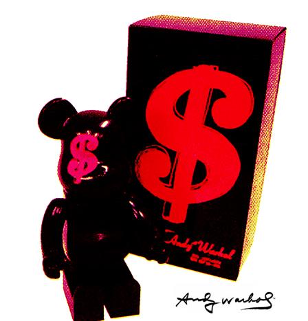 Warhol bearbrick