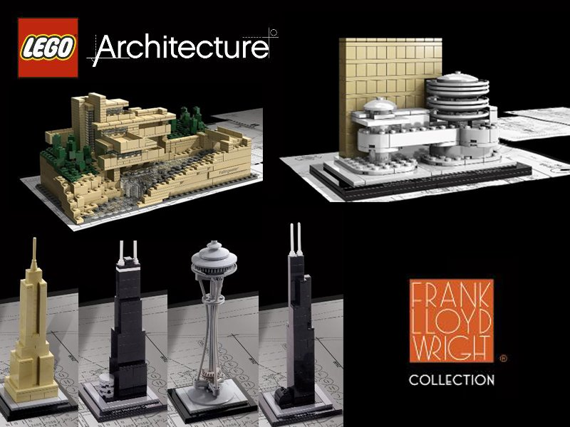 LEGO Architecture Series By Adam Reed Tucker