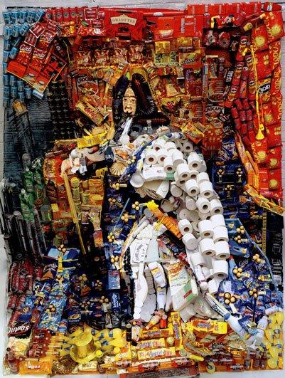 bernard pras Portrait of King Louis XIV