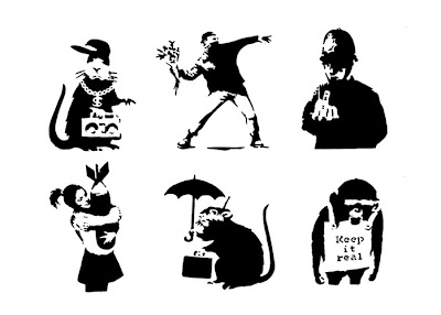 If It's Hip, It's Here (Archives): Be Your Own Banksy