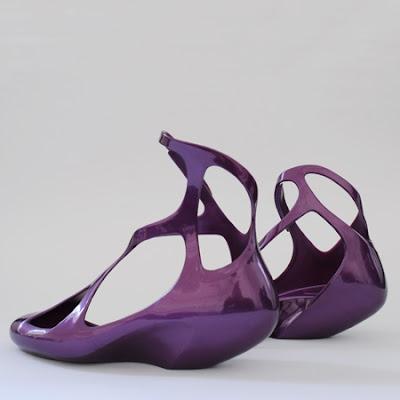 zaha hadid melissa shoes