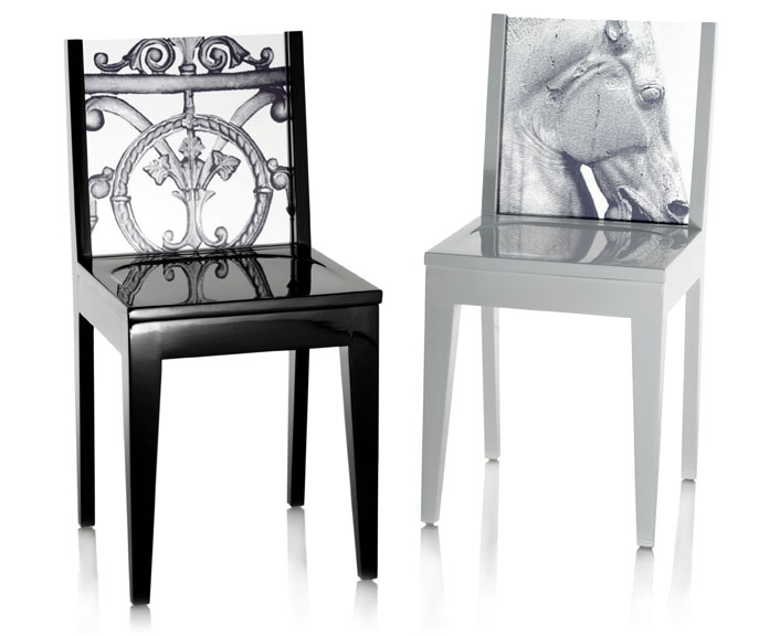above: The Classy Chairs in Gloss Black and Gloss White, with the ...