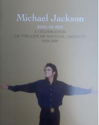 michael jackson memorial brochure